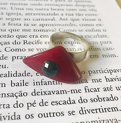 Anel Cascalho Red