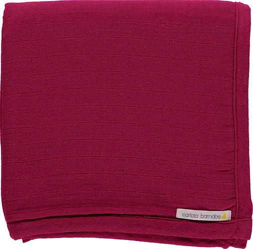 Blanket - Deep pink