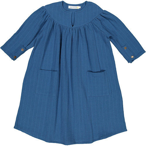 Baggy Dress - Nippy Blue - Kid