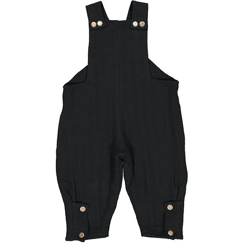 Jumpsuit - Dark Black - Kid