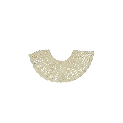 Lace Collar - Pearl White