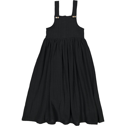 Jumper Dress - Dark Black - Kid