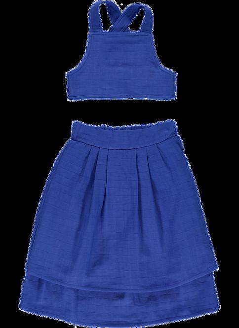 Kid Skirt - Electric Blue