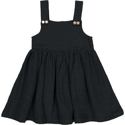 Jumper Dress - Dark Black - Baby