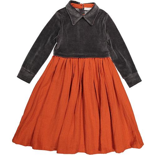 Twiggy Dress - Brick