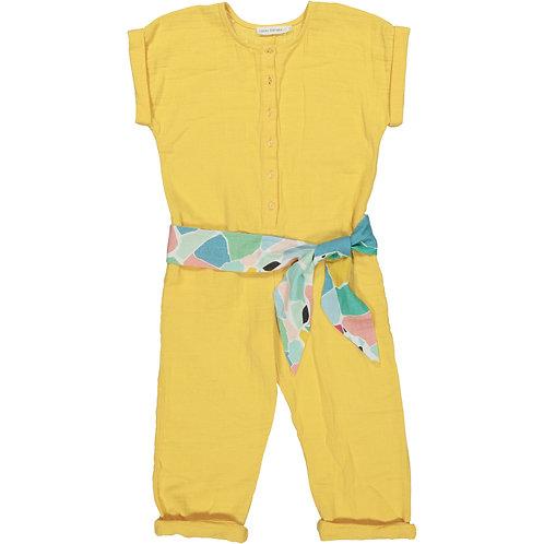 Overall - Yellow Splash - Kid