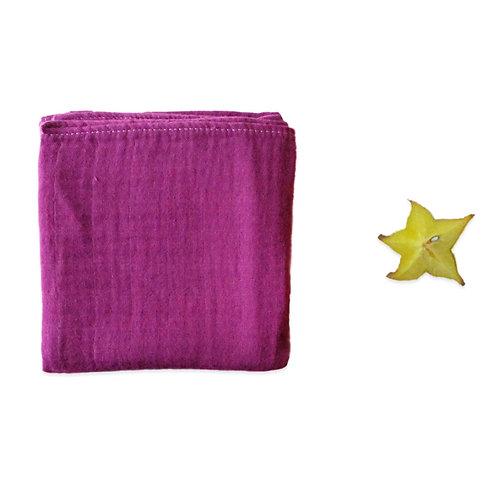Nappie/Doudou - Blackberry purple