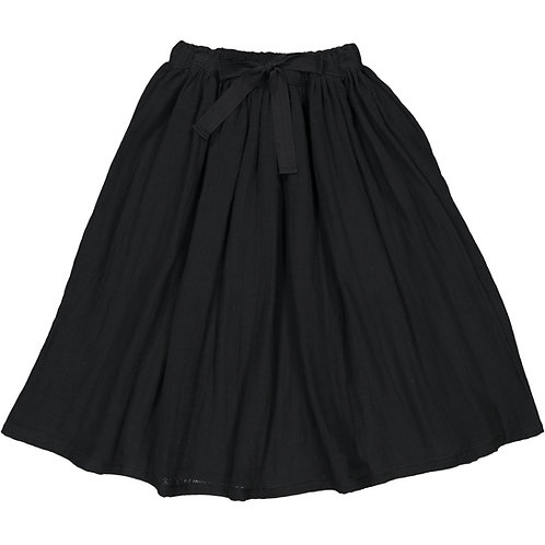 Midi Skirt - Dark Black - Kid