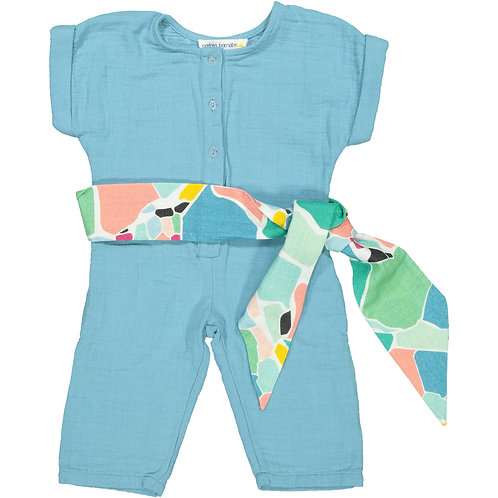 Overall - Blue Vague - Baby