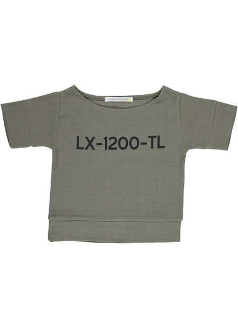 Lx Blouse - Lettering - Taupe Alfama