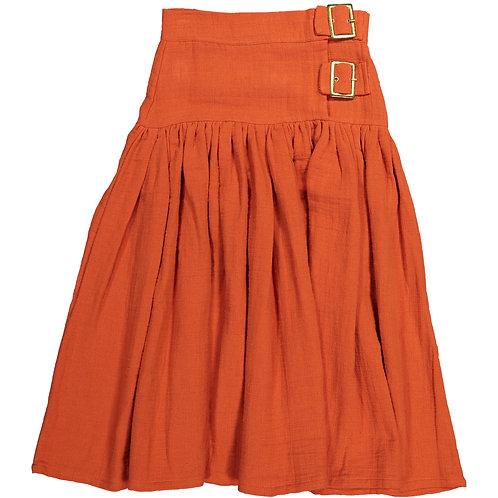 Maxi Skirt - Brick