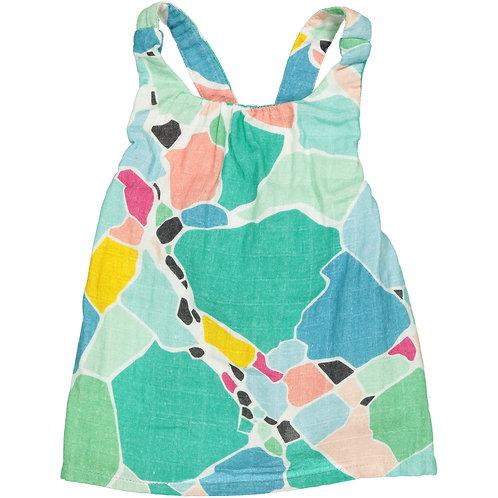 Overall Skirt - Print - Baby