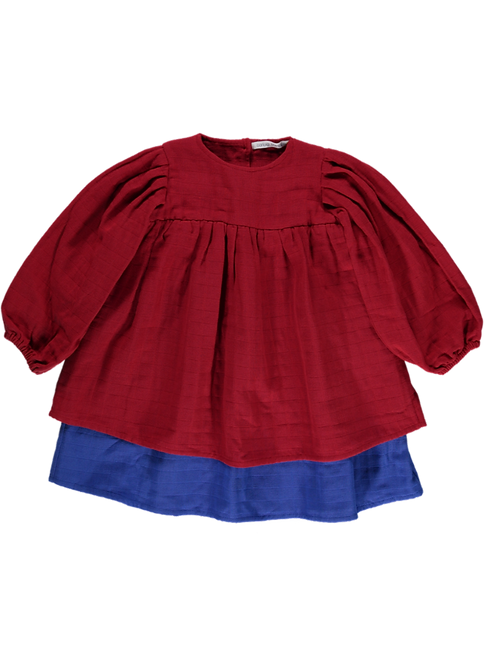 Dress 2 colors - Red | Blue