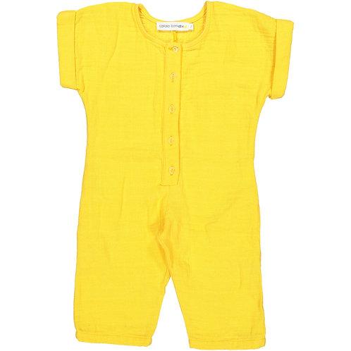 Overall - Yellow Splash - Baby