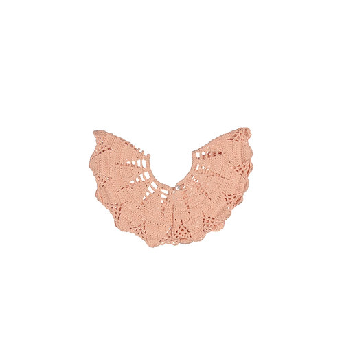 Lace Collar - Soft Coral