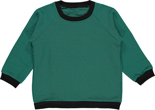 Sweatshirt kid - Green amazonite