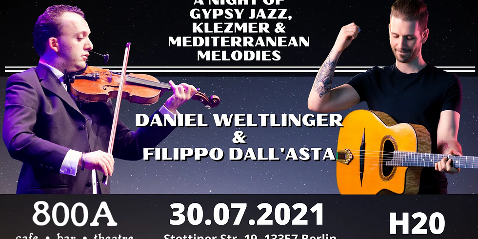 Mediterranean Gypsy Jazz- Filippo Dall'Asta & Daniel Weltlinger
