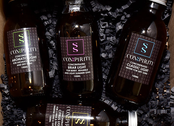 ConSpiriti Light Concentrated mixers 4x150ml tasting set in box