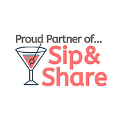 proud partner of sip and share