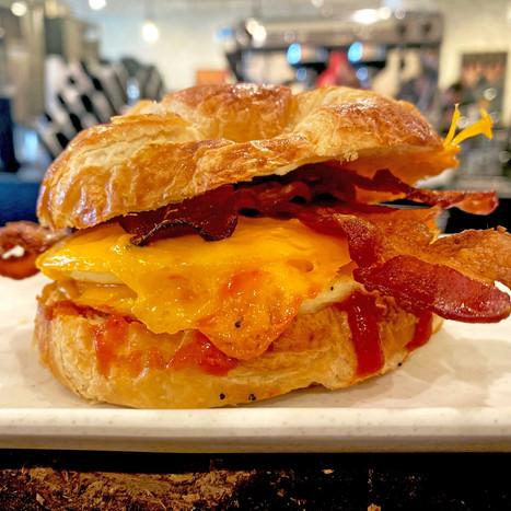 Build Your Own Breakfast Sandwhich