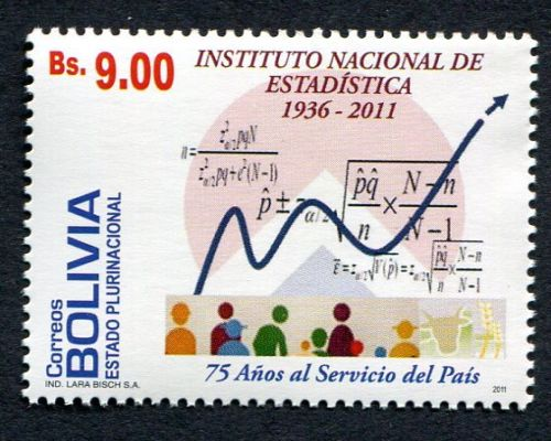 Bolivia 2011 75 years National Institute of Statistics