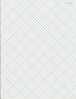 Quilter's paper diagonal grid double sided0001
