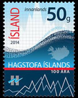 Iceland 2014 100th Anniversary Statistics agency