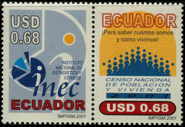 Ecuador 2001 1560a 1560b