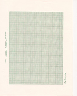 Square grid school graph paper, J.L. Hammett