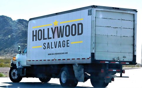 Hollywood Salvage truck