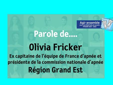 Parole de ... Olivia Fricker