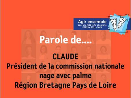 Parole de... Claude Nage avec palmes