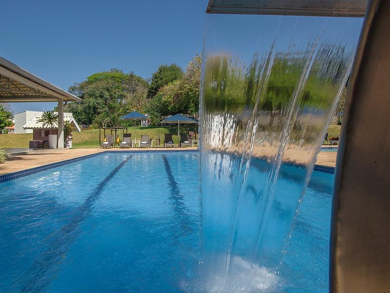 area de lazer, piscinas, Valinhos Plaza