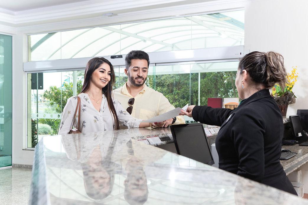 hospedes recepcao, Vinhedo Plaza Hotel 0