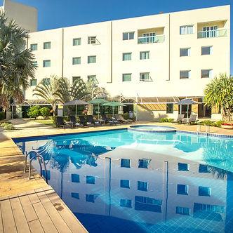 piscina, area de lazer, Vinhedo Plaza Ho