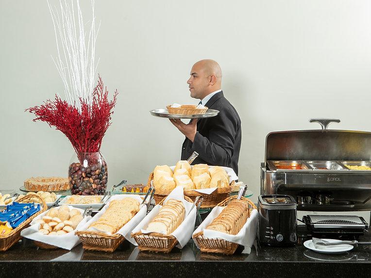 cafe da manha, Valinhos Plaza Hotel 2019