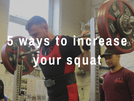 5 ways to squat more.