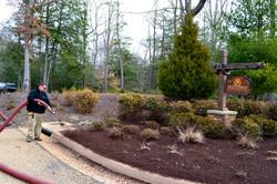 Walnut Colored Mulch