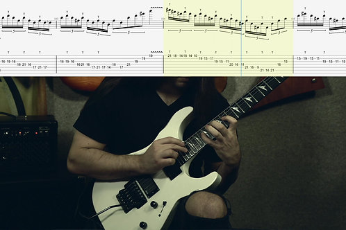 "Guitar Tablature for ""The Fifth Element"" quintuples solo (Guitar Pro & PDF)"