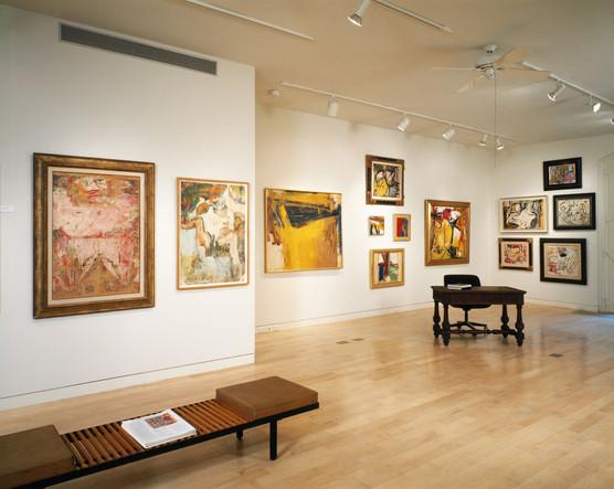 Installation View Willem de Kooning: Liquefying Cubism October 1994 - January 1995 Allan Stone Gallery