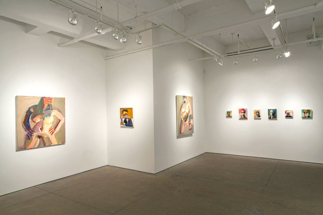 Richard Hickam: Pinkie, Maude and Other Paintings