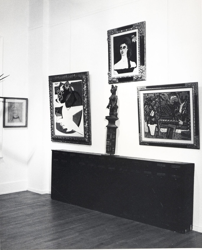 Installation View John Graham April 3 - 28, 1973 Allan Stone Gallery