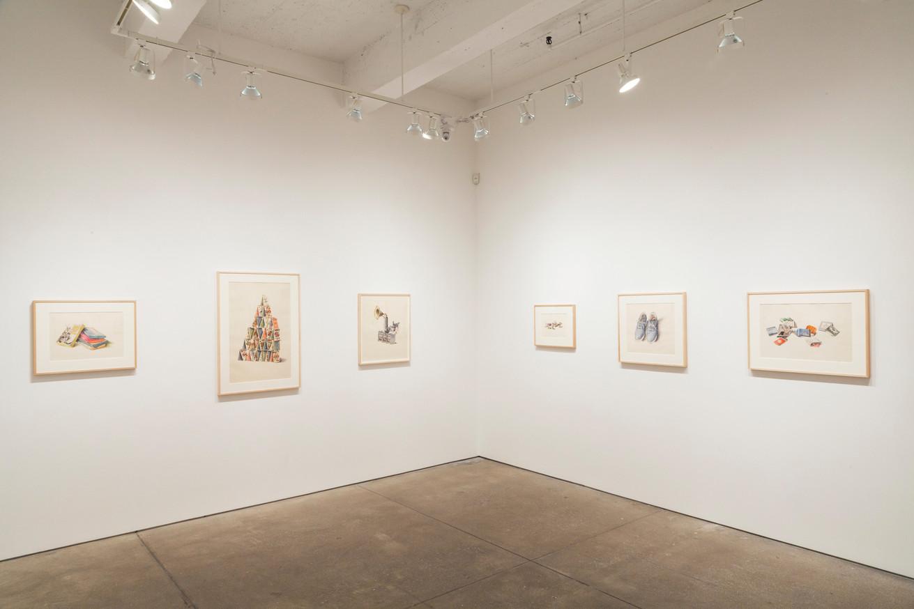 Dalia Ramanauskas: Ink Drawings