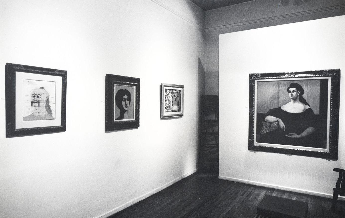 Installation View John Graham and His Friends November 3 - 21, 1981 Allan Stone Gallery