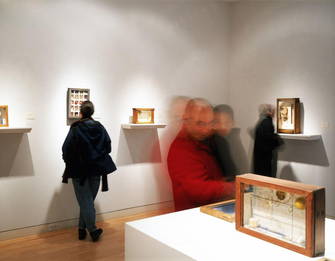 Installation View Joseph Cornell October 30, 2002 - January 18, 2003 Allan Stone Gallery