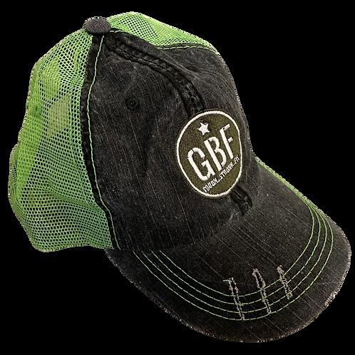 GBF Hat (neon green)