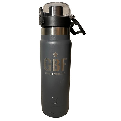 GBF 24-Ounce Water Bottle (Gray)