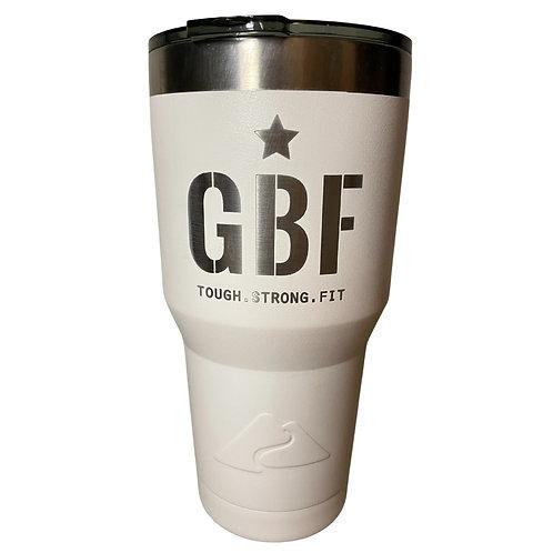 GBF 30-Ounce Tumbler (White)