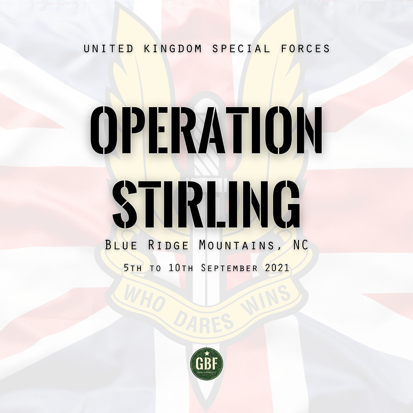 Operation STIRLING (UKSF Selection)