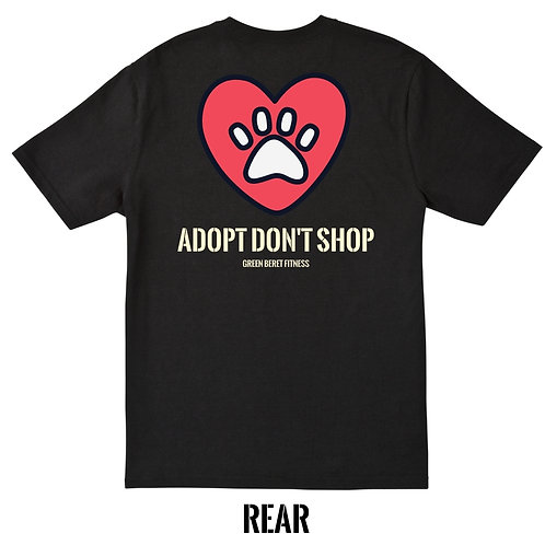 GBF Adopt Don't Shop t-shirt